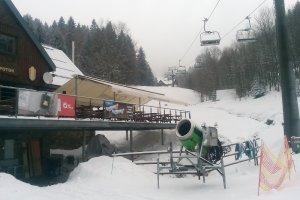 Markýzový přístřešek, Ski areál Černý Potok, Bohemiaflex CS