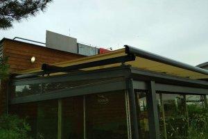 Veranda Box v Hamr Sportu, realizace Bohemiaflex CS