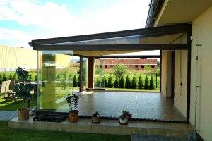 Pergola Latin na zahradě Albixon, realizace Bohemiaflex CS