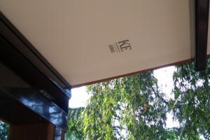 Dřevěná pergola se stahovací střechou, realizace Bohemiaflex CS
