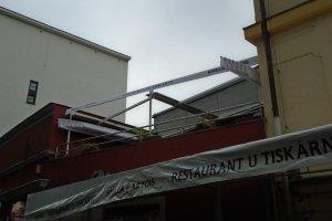 Restaurace u Tiskárny, realizace Bohemiaflex CS