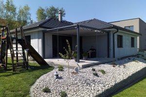 Cubolino - zahradní pergola, realizace Bohemiaflex CS