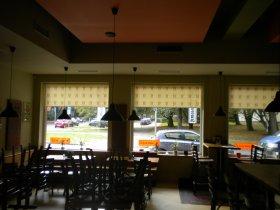 Potisk interiérových rolet