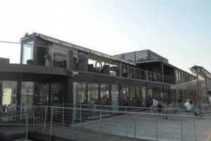 Fun Park Modřany, markýza Riviera, realizace Bohemiaflex CS