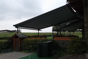 Veranda Box, Golf club Ropice, realizace Bohemiaflex CS